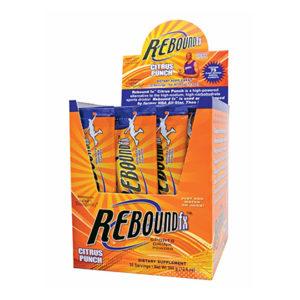 13231 Rebound Fx Citrus Punch Stick Packs Opened Box 0714