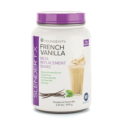 Usyg100061 Slender Fx French Vanilla Meal Replacement Shake