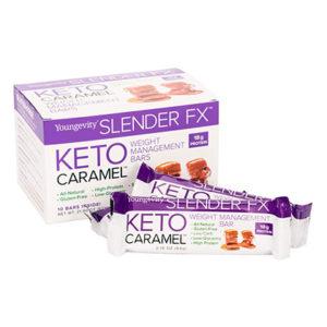 Usyg100068 Slender Fx Keto Caramel Bars